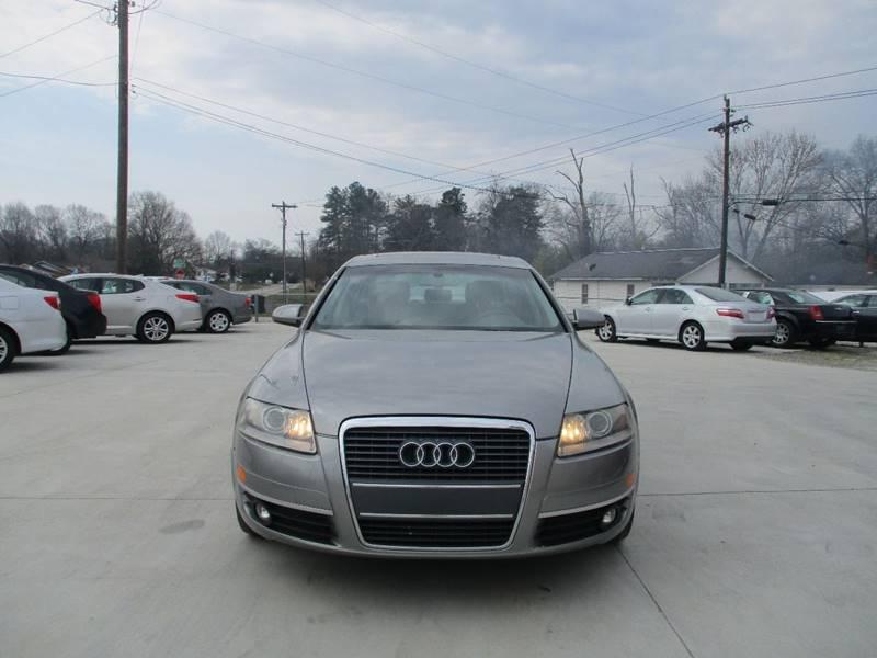 Audi A In Spartanburg SC Bargain Auto Sales Inc - 2006 audi a6
