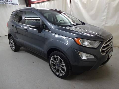 2018 Ford EcoSport Titanium for sale at S & S Motors in Courtland MN