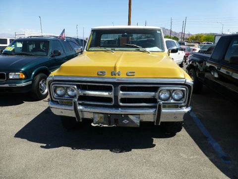 1972 gmc truck specs