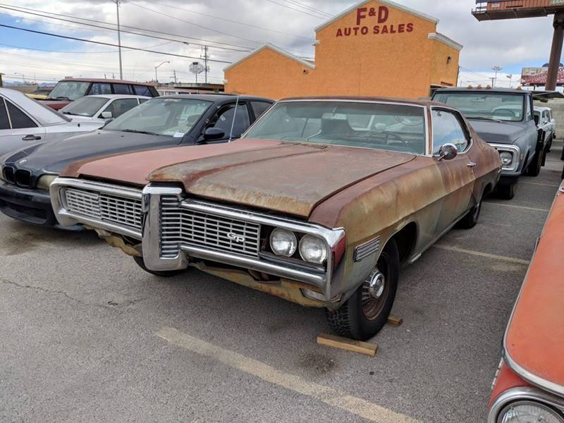 1968 Pontiac Grand Prix for sale at GEM Motorcars in Henderson NV