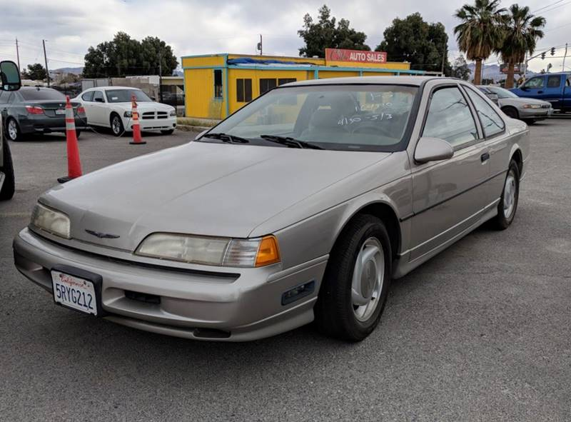 1990 Ford Thunderbird for sale at GEM Motorcars in Henderson NV