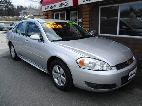 2010 Chevrolet Impala for sale in Turner, ME