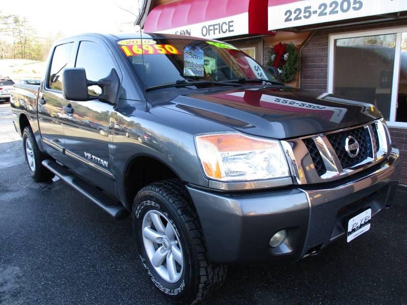 Nissan Used Cars Pickup Trucks For Sale Turner RJB & SON MOTOR CO.