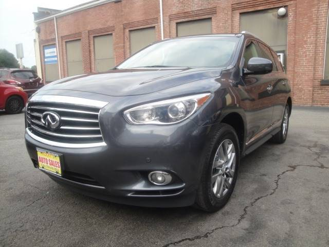 2013 Infiniti Jx35 Awd 4dr Suv In Worcester Ma Rockys Auto Sales
