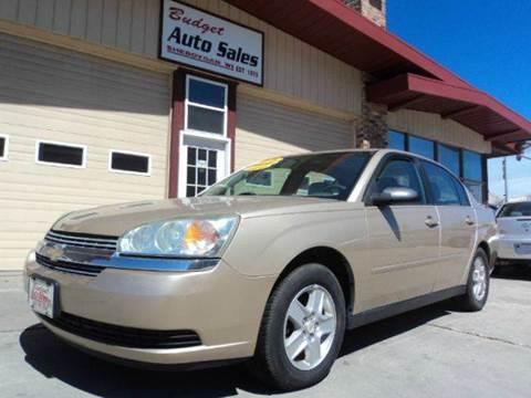2005 Chevrolet Malibu for sale at Budget Auto Sales Inc. in Sheboygan WI