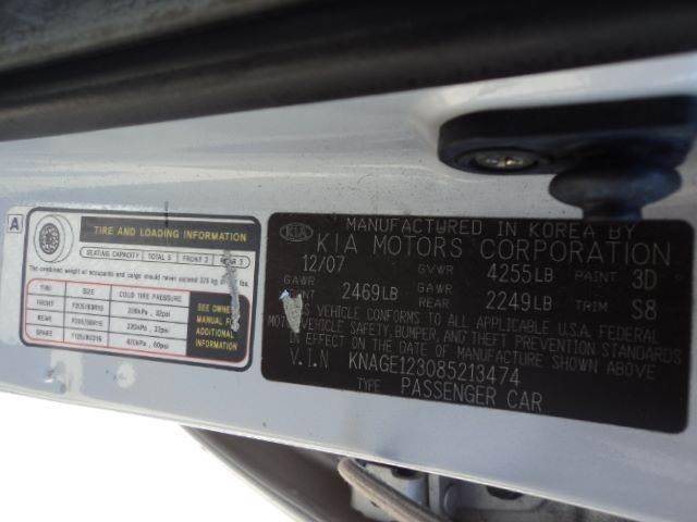 2008 Kia Optima EX 4dr Sedan I4 - Sheboygan WI