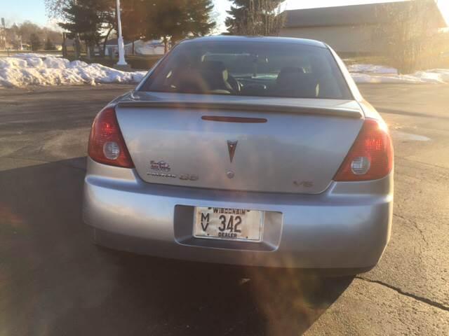 2006 Pontiac G6 4dr Sedan w/V6 - Sheboygan WI