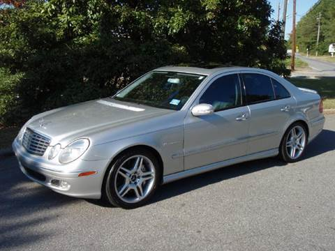 2003 Mercedes-Benz E-Class for sale at Big Apple Automotive in Marietta GA