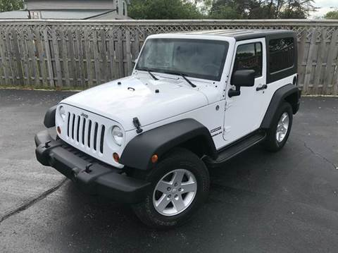 2012 Jeep Wrangler for sale in Orleans, IN