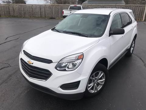 2017 Chevrolet Equinox for sale at CarSmart Auto Group in Orleans IN