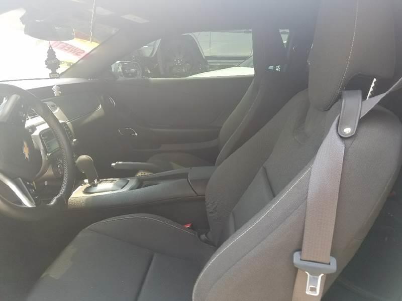 2015 Chevrolet Camaro LT 2dr Coupe w/1LT - Kerman CA