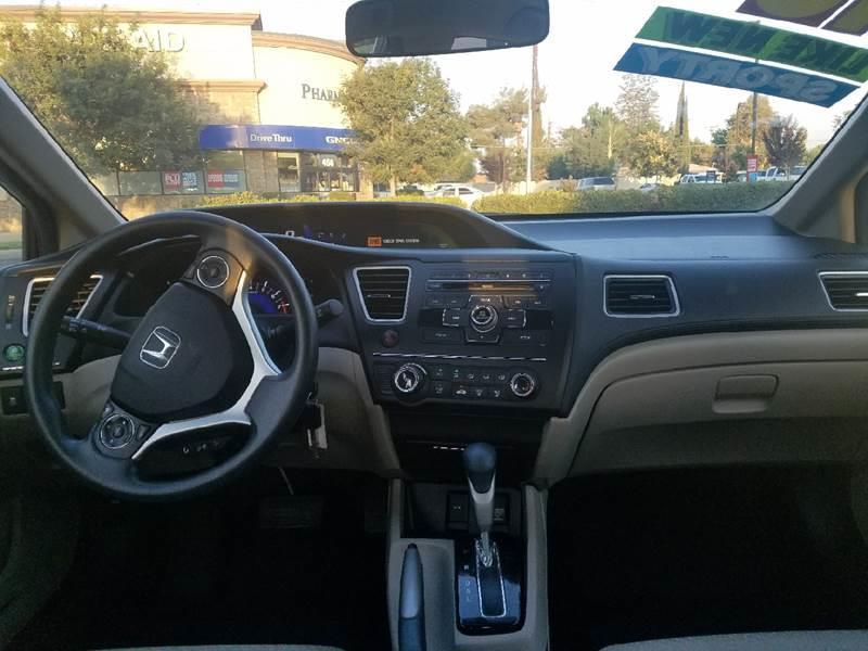 2015 Honda Civic LX 4dr Sedan CVT - Kerman CA