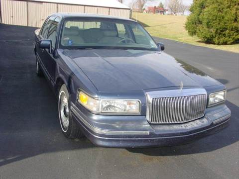 1996 Lincoln Town Car for sale at Holland Auto Sales and Service, LLC in Somerset KY
