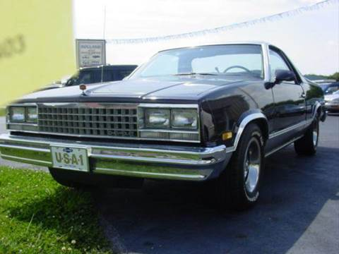 1987 Chevrolet El Camino for sale at Holland Auto Sales and Service, LLC in Somerset KY