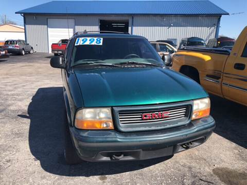 1998 GMC Jimmy for sale at Holland Auto Sales and Service, LLC in Somerset KY