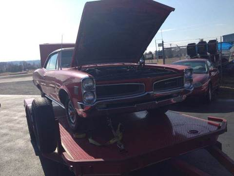 1966 Pontiac Grand Le Mans for sale at Holland Auto Sales and Service, LLC in Somerset KY