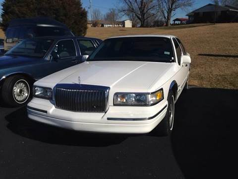 1997 Lincoln Town Car for sale at Holland Auto Sales and Service, LLC in Somerset KY