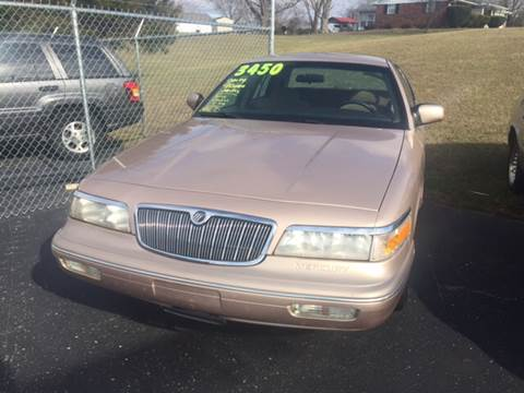 1996 Mercury Grand Marquis for sale at Holland Auto Sales and Service, LLC in Somerset KY