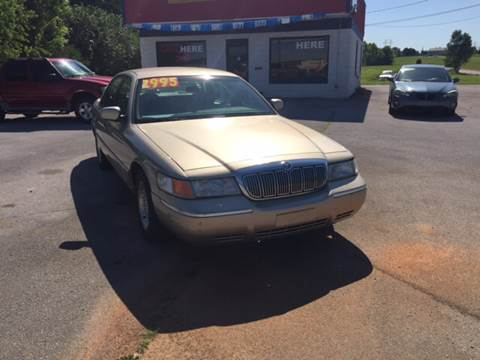 1999 Mercury Grand Marquis for sale at Holland Auto Sales and Service, LLC in Somerset KY