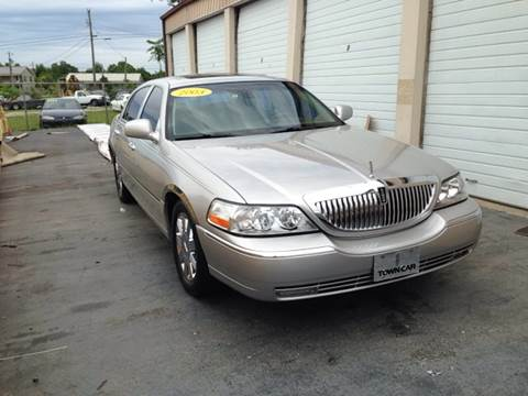 2003 Lincoln Town Car for sale at Holland Auto Sales and Service, LLC in Somerset KY