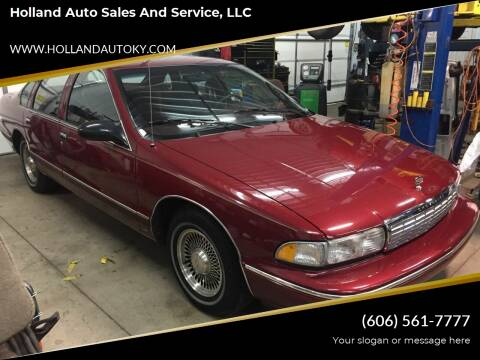 1995 Chevrolet Caprice for sale at Holland Auto Sales and Service, LLC in Somerset KY