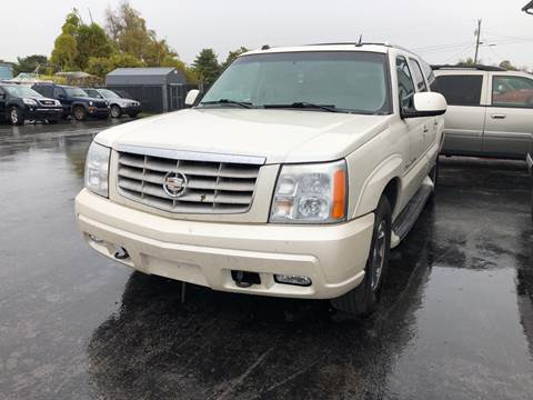 2005 Cadillac Escalade ESV for sale at Holland Auto Sales and Service, LLC in Somerset KY