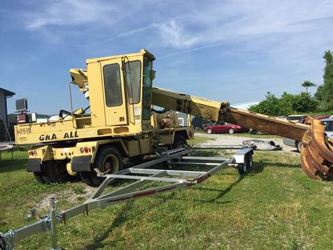 1991 Gradall Crane G3WD2510 for sale at Holland Auto Sales and Service, LLC in Somerset KY