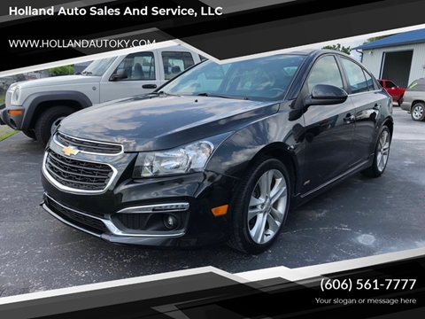 2015 Chevrolet Cruze for sale at Holland Auto Sales and Service, LLC in Somerset KY