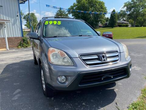 2006 Honda CR-V for sale at Holland Auto Sales and Service, LLC in Somerset KY