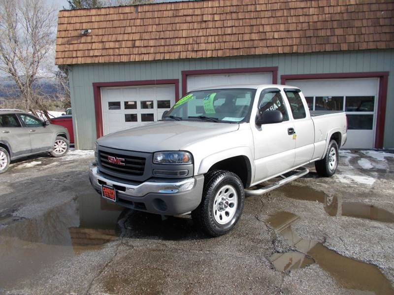 2006 Gmc Sierra 1500 Work Truck 4dr Extended Cab 4wd 6 5 Ft Sb In