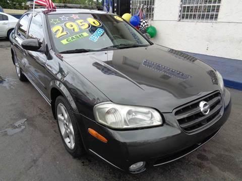 2002 Nissan Maxima For Sale In Miami, FL
