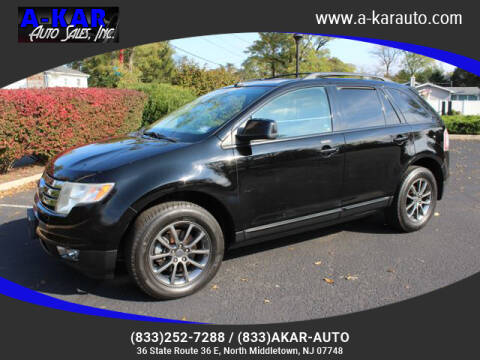 2008 Ford Edge for sale at A-KAR AUTO SALES INC in North Middletown NJ