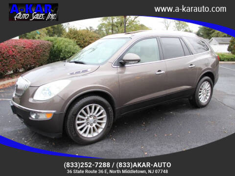2010 Buick Enclave for sale at A-KAR AUTO SALES INC in North Middletown NJ