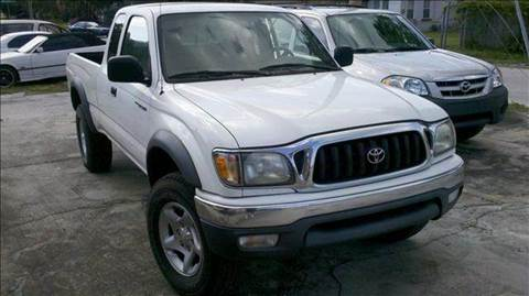 2002 Toyota Tacoma for sale at Advance Import in Tampa FL