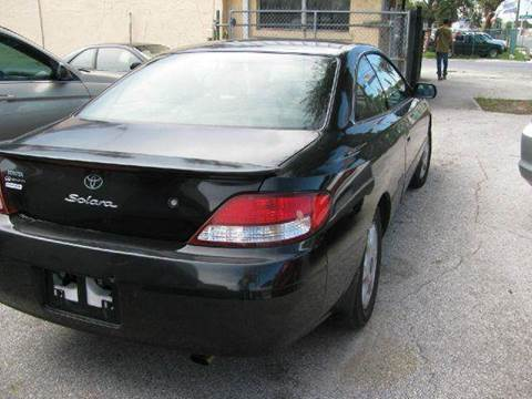 2000 Toyota Camry Solara for sale at Advance Import in Tampa FL