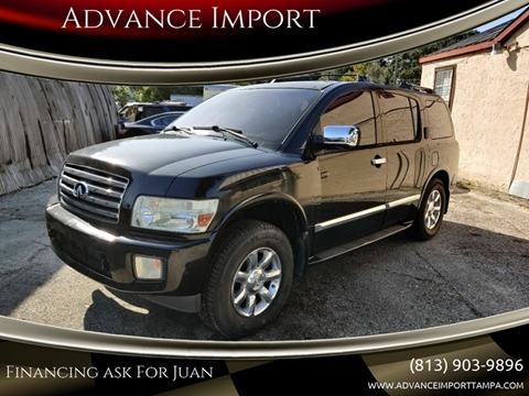 2006 Infiniti QX56 for sale at Advance Import in Tampa FL