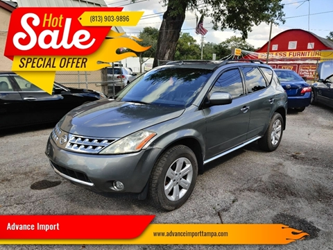 2006 Nissan Murano for sale at Advance Import in Tampa FL
