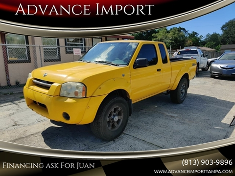 2003 Nissan Frontier for sale at Advance Import in Tampa FL