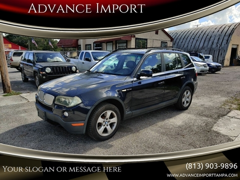 2008 BMW X3 for sale at Advance Import in Tampa FL