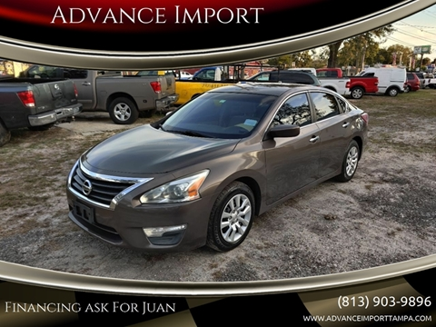 2013 Nissan Altima for sale at Advance Import in Tampa FL