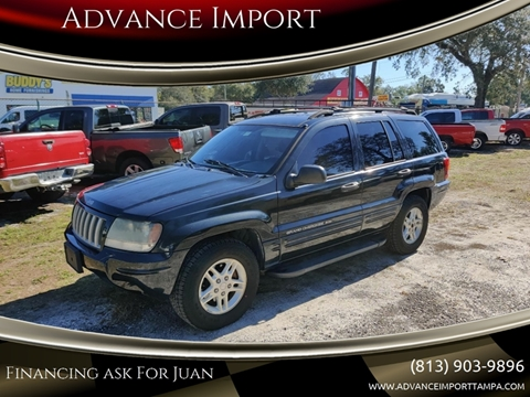 2004 Jeep Grand Cherokee for sale at Advance Import in Tampa FL