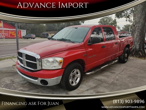 2004 Dodge Ram Pickup 1500 for sale at Advance Import in Tampa FL
