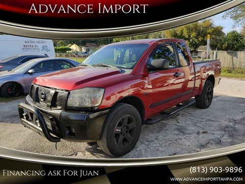 2004 Nissan Titan for sale at Advance Import in Tampa FL