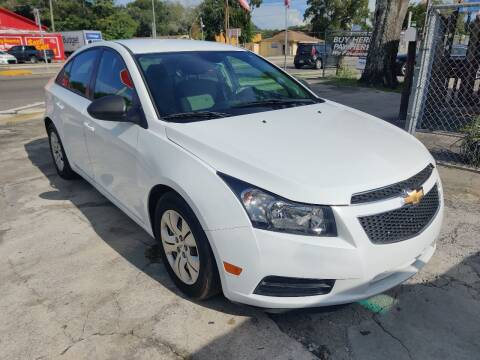 2014 Chevrolet Cruze for sale at Advance Import in Tampa FL