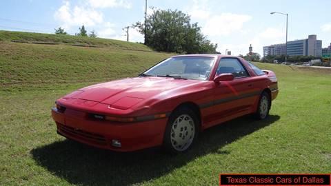 1990 Toyota Supra for sale in Dallas, TX