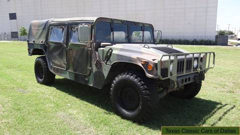 1989 AM General Hummer for sale in Dallas, TX