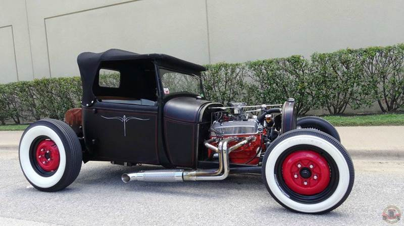 1928 ford model a hot rod in dallas tx texas classic cars of dallas. Black Bedroom Furniture Sets. Home Design Ideas