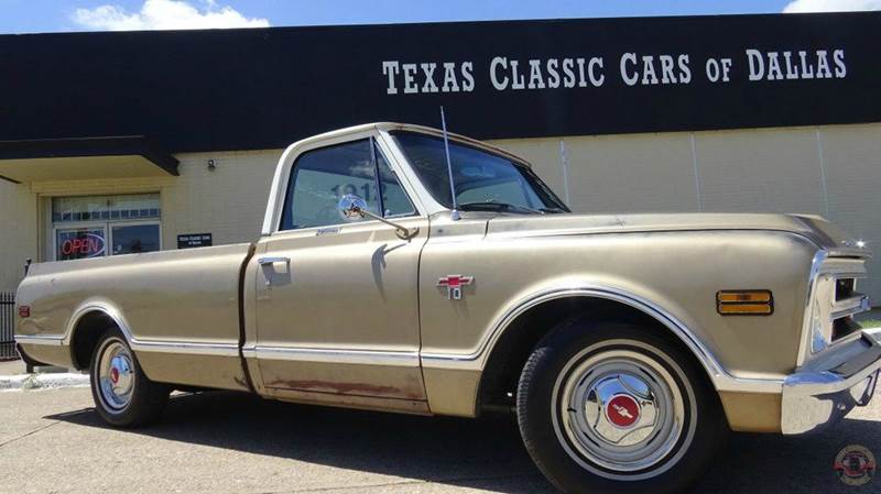 1968 chevrolet c k 10 series in dallas tx texas classic cars of dallas. Black Bedroom Furniture Sets. Home Design Ideas