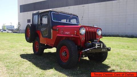 1954 Jeep Willys for sale in Dallas, TX