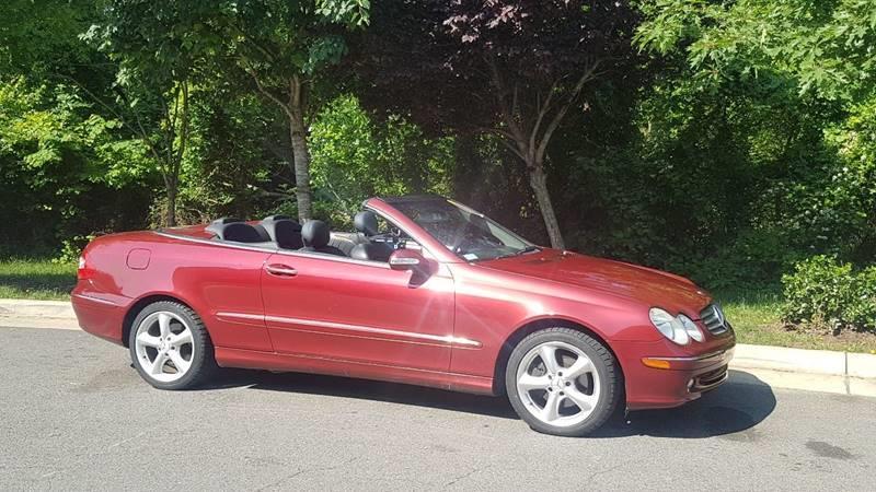2005 Mercedes Benz CLK CLK 320 2dr Cabriolet   Chantilly VA